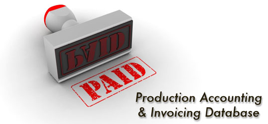 PAID Production Accounting Invoicing Software For Freelancers - Invoice paid stamp
